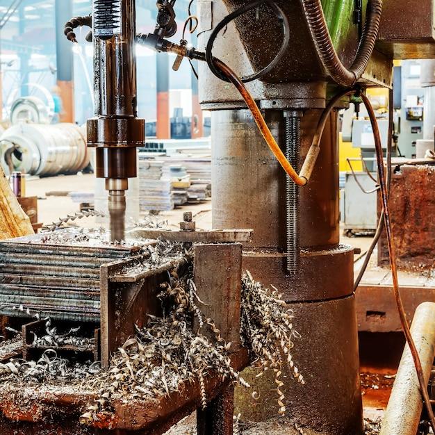 Cnc drilling machine Premium Photo