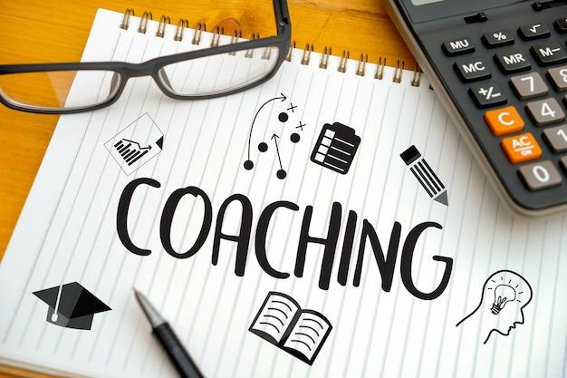 Coaching training planning Premium Photo
