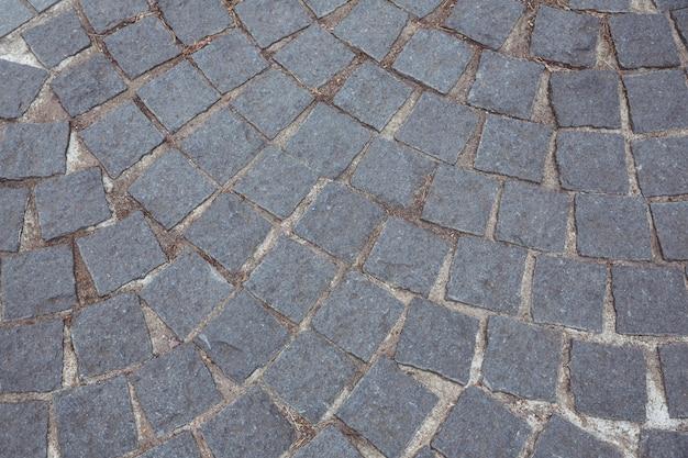 Cobble stone road background Free Photo
