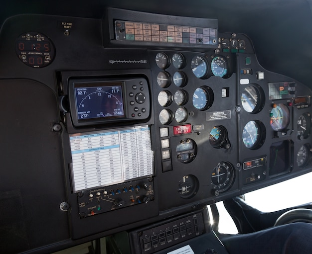 Cockpit of helicopter Photo | Free Download