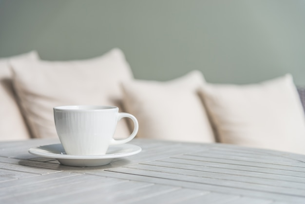 Coffee cup outdoor Free Photo