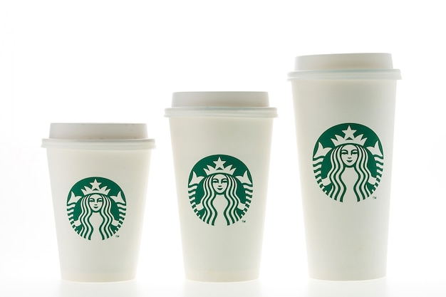 coffee cups of different sizes without straw photo free