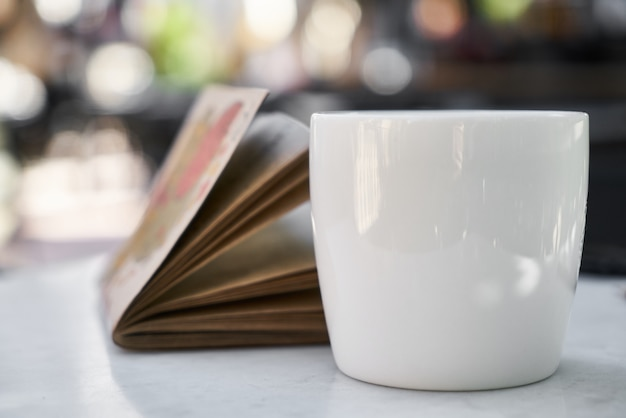 Coffee and notebook Premium Photo