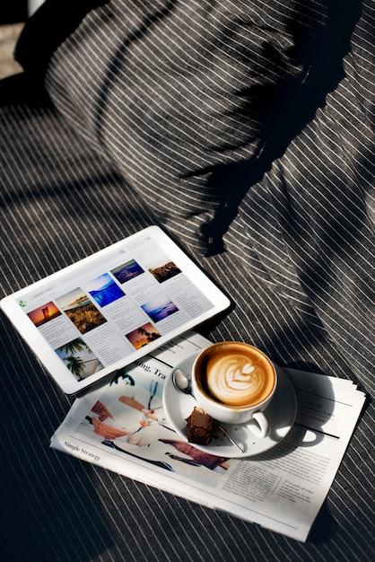 Рефлексотерапия напитков планирование данных цифровая концепция Бесплатные Фотографии