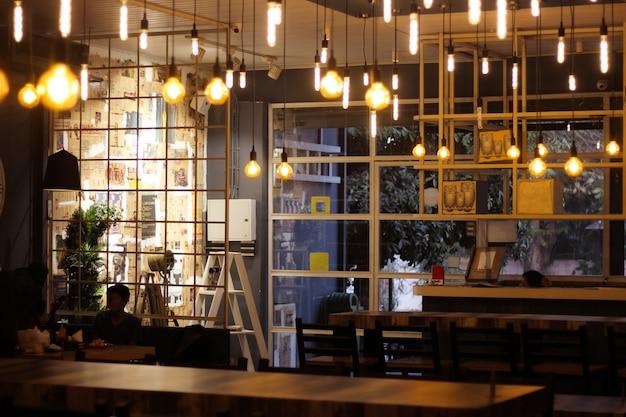 Coffee shop Premium Photo