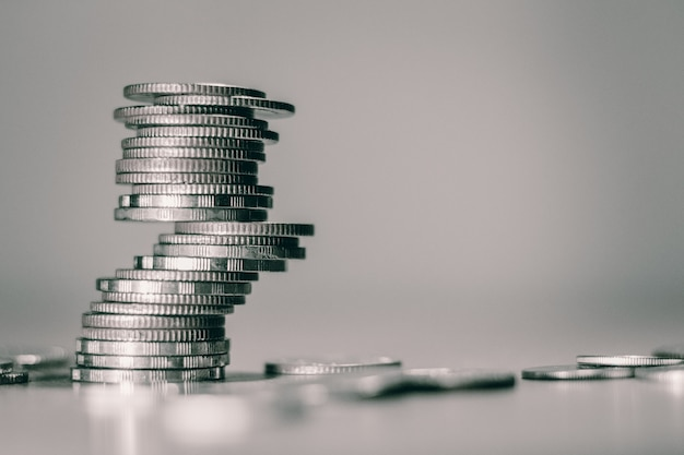 Coin tower Premium Photo