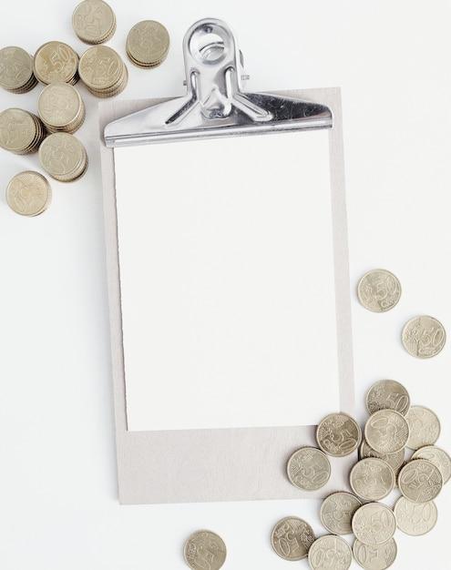 Монеты и буфер обмена Бесплатные Фотографии