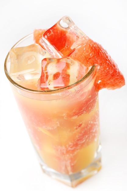 Cold grapefruit juice Free Photo