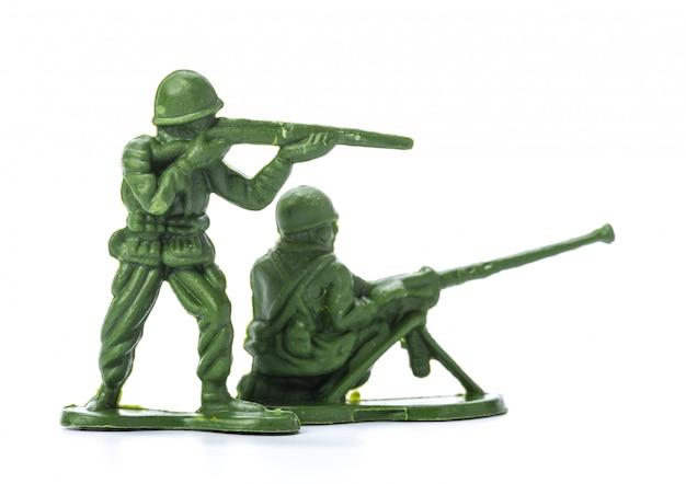 Коллекция традиционных игрушечных солдат Premium Фотографии