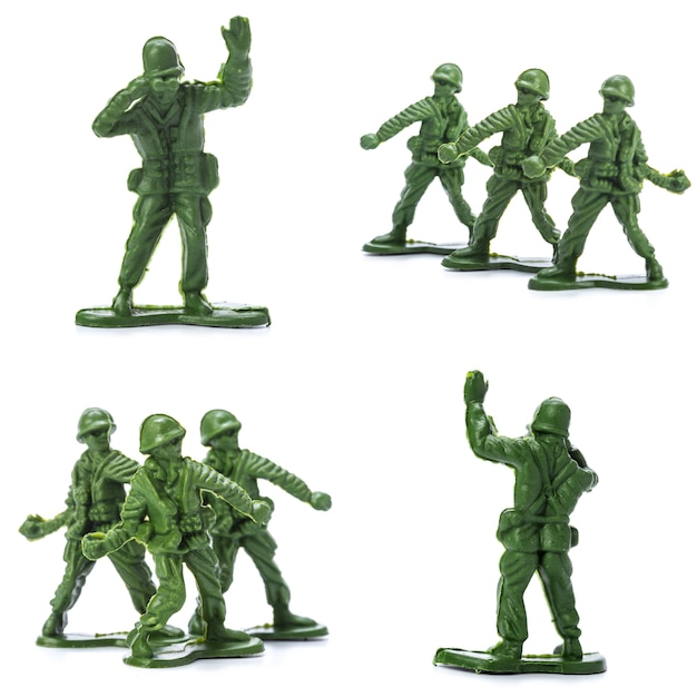 Collection of traditional toy soldiers Photo | Premium Download