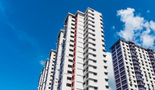 A color residential estate Premium Photo