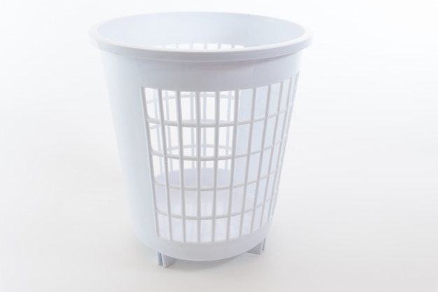 Color trash can isolated Premium Photo