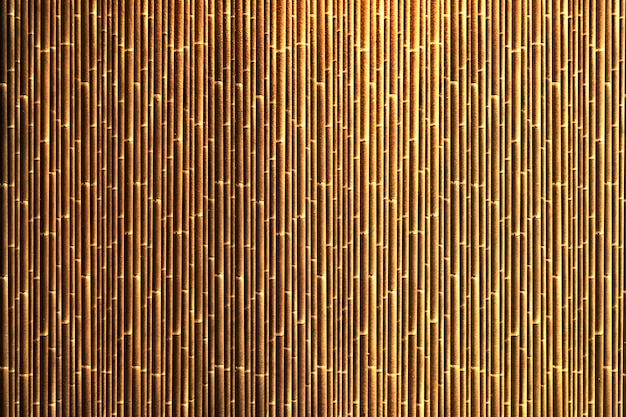 Colored bamboo background Free Photo