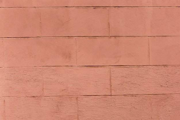 Colored brick wall with coarse appearance Free Photo
