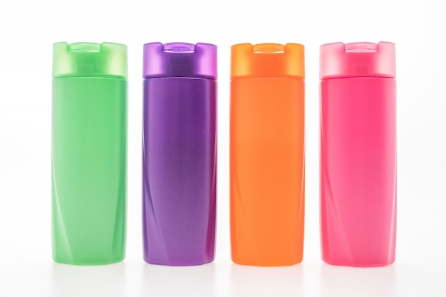 Colored canteens Free Photo