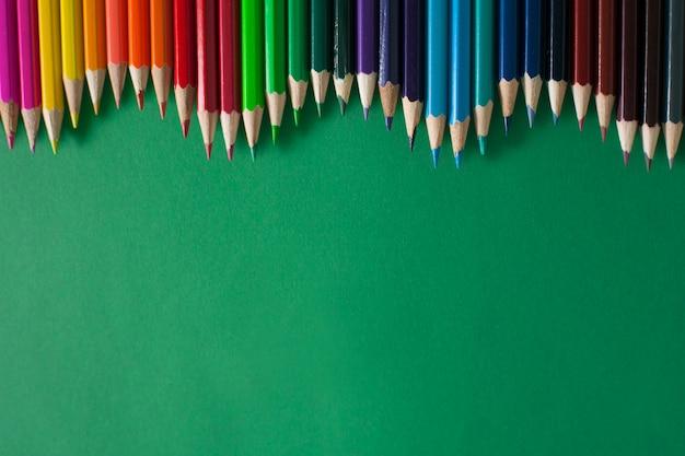 Colored pencils Premium Photo