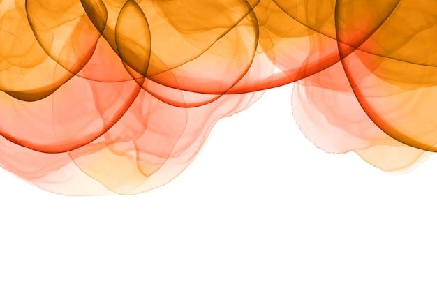 Sfondo colorato con inchiostro di alcool Foto Gratuite