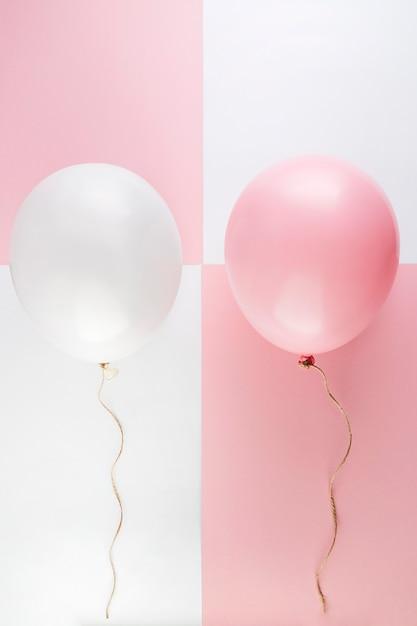 Palloncini colorati per il concetto di compleanno Foto Gratuite