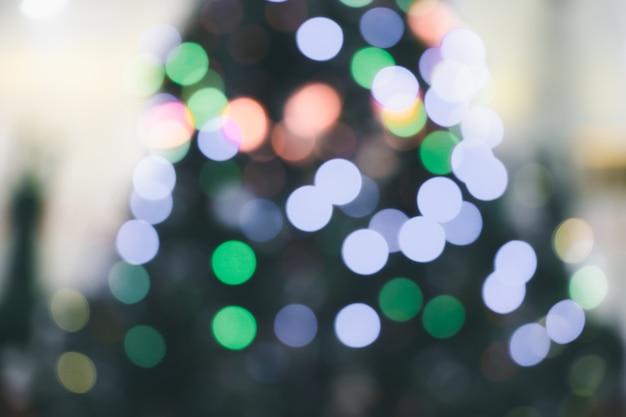 Красочные боке от освещения на размытом фоне Premium Фотографии