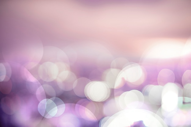 Colorful bokeh lights background Free Photo