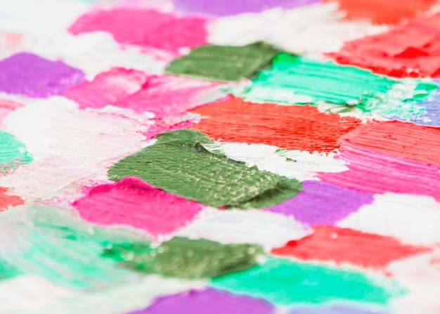 Colorful brush strokes Free Photo