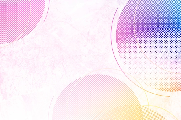 Colorful circles background Free Photo
