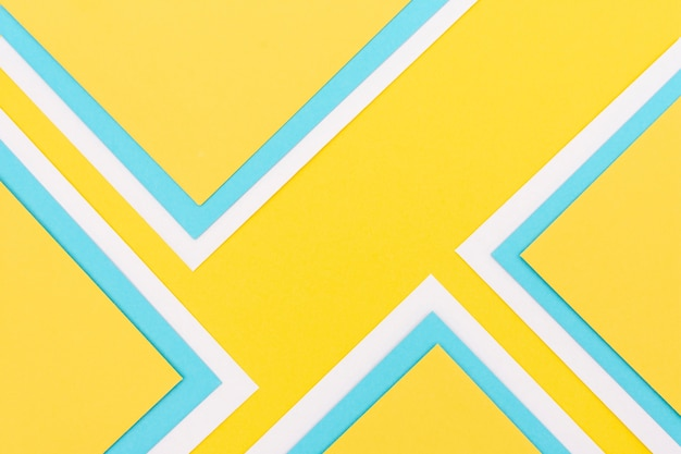 Colorful decoration of paper sheets Free Photo