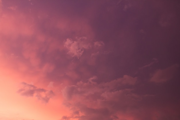 Colorful dramatic sky with cloud Premium Photo