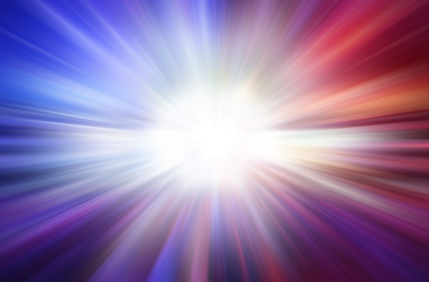 Colorful explosion abstract speed motion light speed background concept. Premium Photo