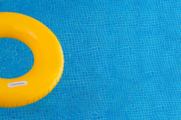 Colorful floats on a pool Premium Photo