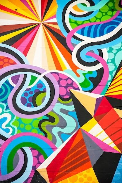 Colorful graffiti Premium Photo
