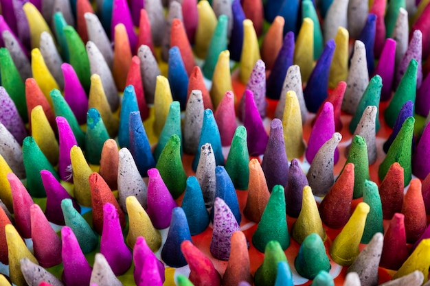 Colorful incense Free Photo
