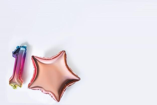 Colorful isolate balloons Premium Photo