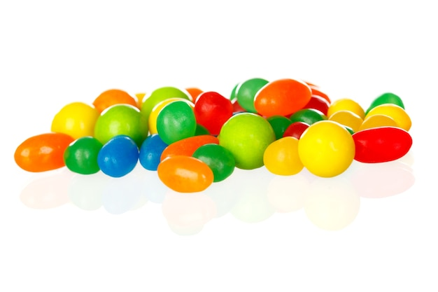 Colorful jelly beans Premium Photo