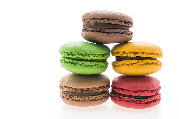 Colorful macaroon Free Photo