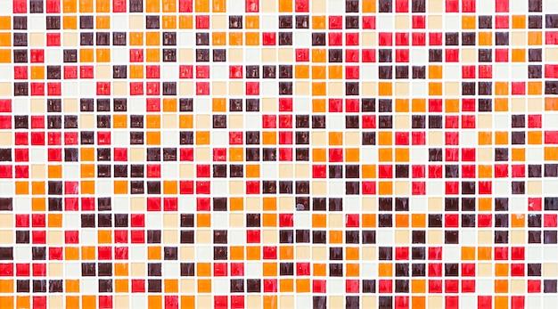 Colorful mosaic tiles Free Photo
