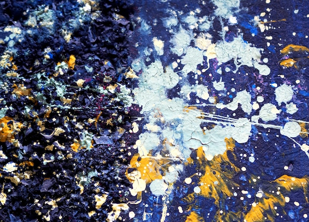 Colorful oil painting abstract background and texture. Premium Photo