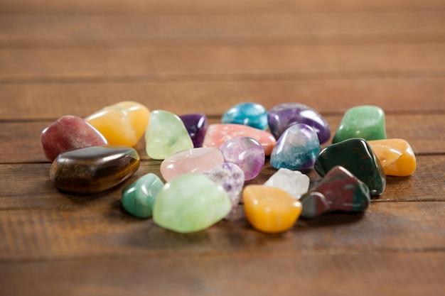 Colorful pebbles stones Free Photo