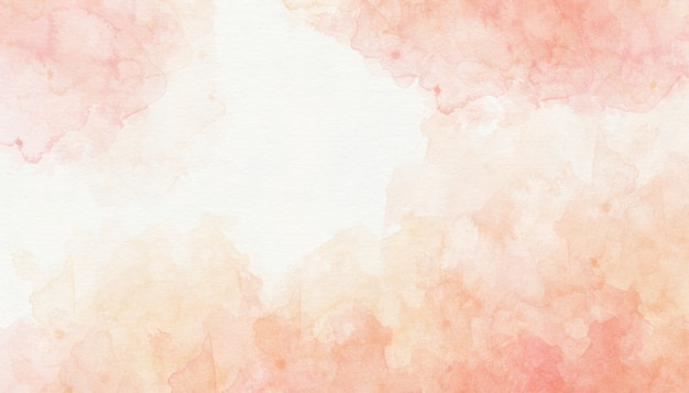 Colorful pink watercolor background Premium Photo