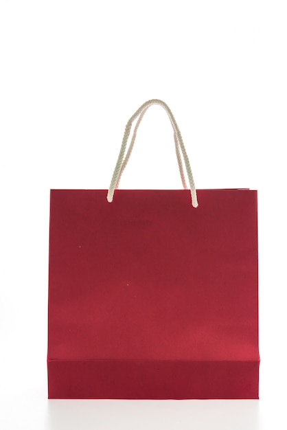 Colorful shopping bag Free Photo