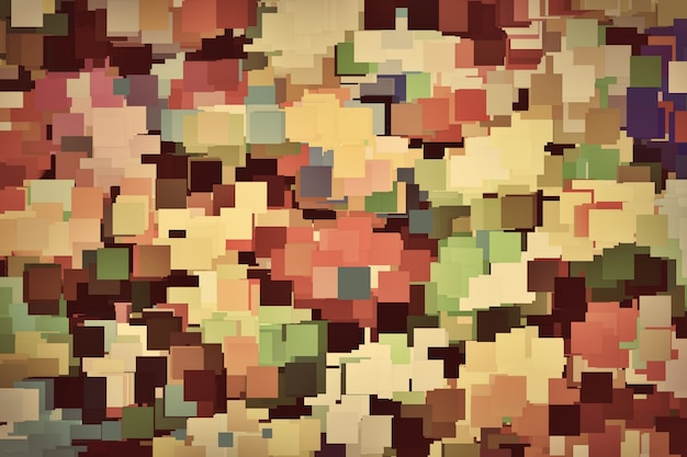 Colorful squares background Free Photo