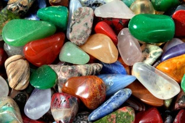 Colorful stones texture   hdr Free Photo