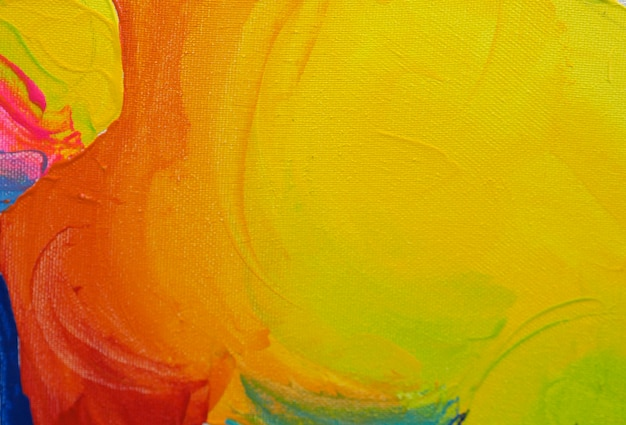 Colorful sweet colors abstract background oil paint. Premium Photo