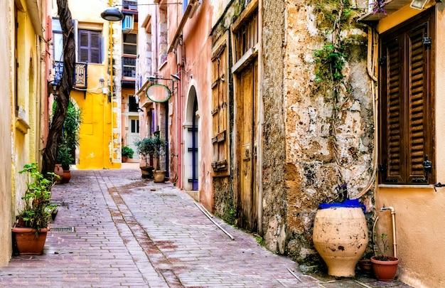 カラフルな伝統的なギリシャシリーズ Premium写真