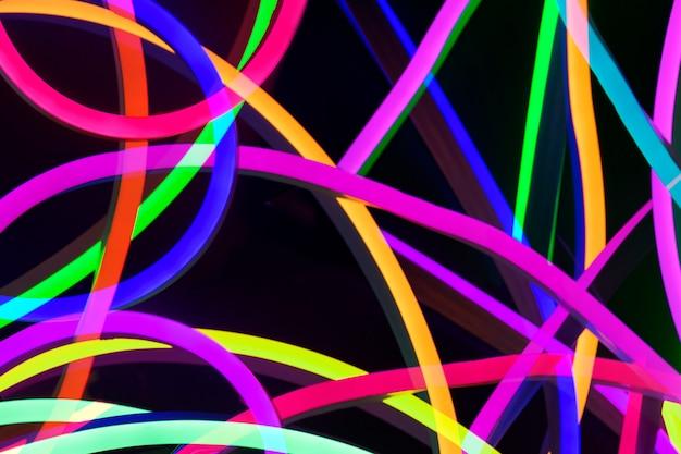 Colorful uv light background Free Photo