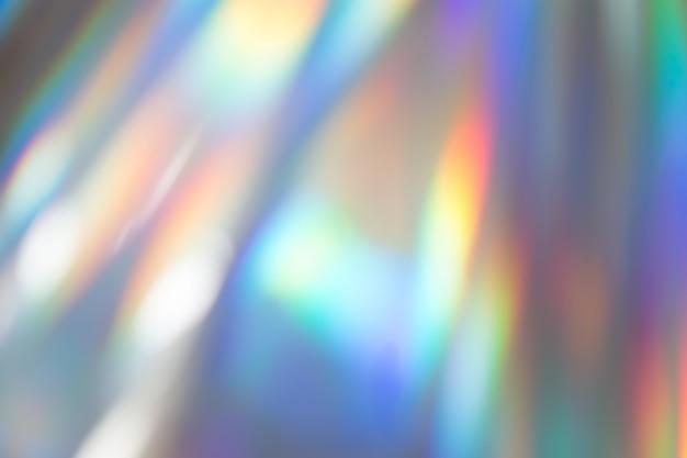 カラフルな活気に満ちたホログラフィックパステルホイル背景テクスチャ。有毒なレイブ、パーティーの背景。 Premium写真