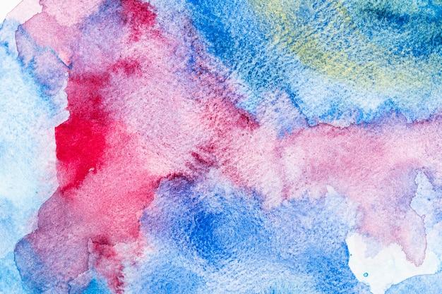 다채로운 수채화 복사 공간 패턴 배경 무료 사진