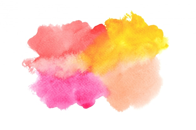 Premium Photo Colorful Watercolor Painting Ideas With Colorful Shades Background