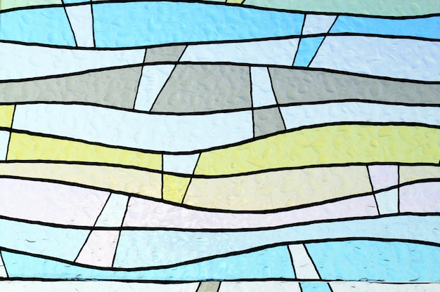 Colorful window glass  background Premium Photo