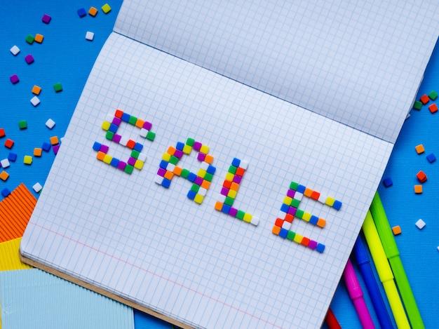 Colorful word sale . Premium Photo